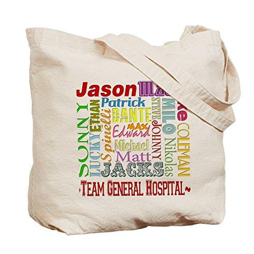 CafePress–Team General Hospital bolsa–gamuza de bolsa de lona bolsa, bolsa de la compra