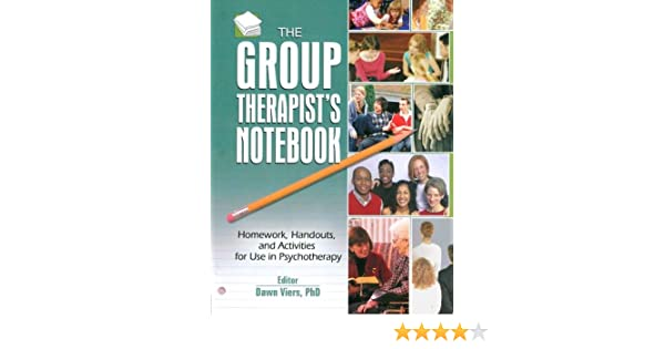 Amazon the group therapists notebook homework handouts and amazon the group therapists notebook homework handouts and activities for use in psychotherapy 9780789028518 dawn viers books fandeluxe Gallery