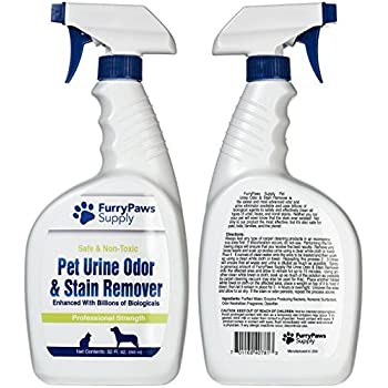 Amazon Com Furry Paws Pet Urine Odor And Stain Remover