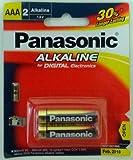 Panasonic Alkaline LR03TDG/2B 1.5V AAA Battery (Multicolor)