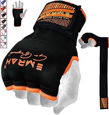 EMRAH Cinta Boxeo Vendas Mano Muñeca Elasticas Interiores Guantes MMA Envolturas Vendaje Kick Boxing -X (Pequeña, Naranja): Amazon.es: Deportes y aire libre