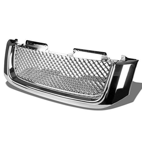 Xl Envoy - GMC Envoy/XL ABS Plastic Sport Mesh Front Bumper Grille (Chrome) - 2nd Gen