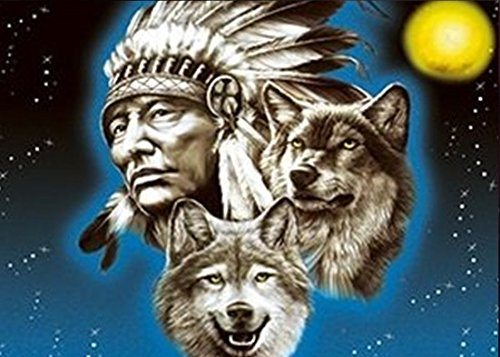 NATIVE PRIDE UNFRAMED Holographic Wall Art-POSTERS That FLIP and CHANGE images-Lenticular Technology Artwork--MULTIPLE PICTURES IN ONE--HOLOGRAM Images Change--Technology by THOSE FLIPPING PICTURES