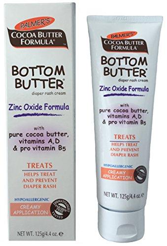 Chadamyi Bottom Butter Zinc Oxide Diaper Rash Cream, 4.4 Ounce - Baby Bottom Butter
