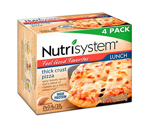 Nutrisystem® Feel Good Favorites® Thick Crust Pizza, Cheese Value Pack, 4 Count