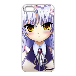 iPhone 5 5s Cell Phone Case Covers White Angel Beats D4624650