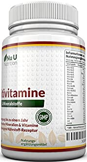 Multivitamin Tabletten Bild