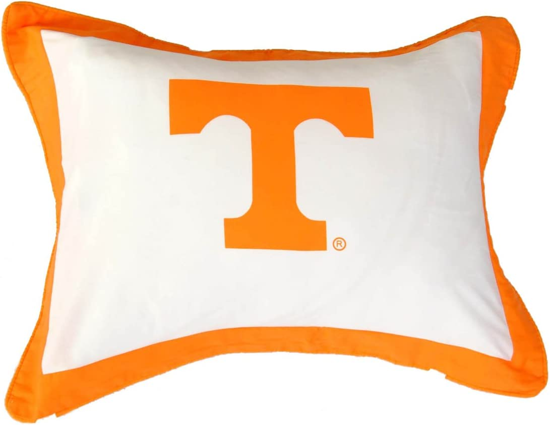 Standard Pillow Sham Tennessee Volunteers 1 2 Includes: Piece Twin Reversible Comforter Set 1 Save Big By Bundling! Twin Reversible Comforter and