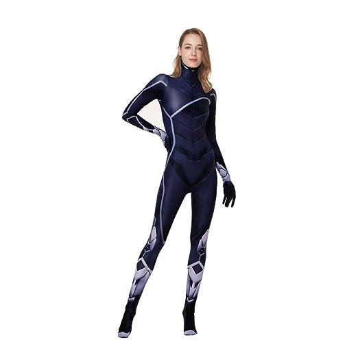 HEROMEN PS4 Spider Man Black Catwoman Onesies,Disfraz De Cosplay ...