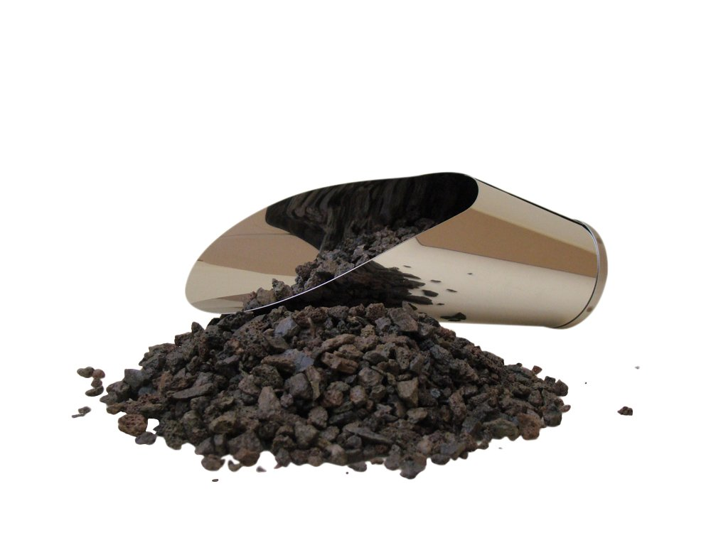Genki-Bonsai Lavagranulat | 2 Liter Beutel | Zur Beimischung In die Pflanzenerde | Körnung 2-8 mm