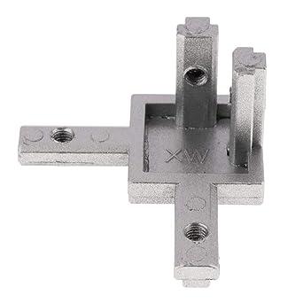 Intérieur Angle Zinc 20 B-Type Rainure 6