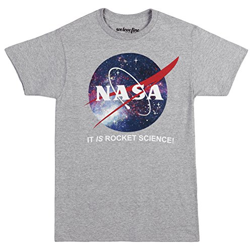 Nasa Space Logo It Is Rocket Science Adult T-Shirt