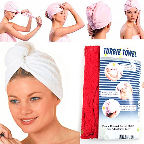 Turbie Absorbent Drying Turban Bathing