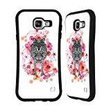Official Monika Strigel Wolf Animals And Flowers Hybrid Case for Samsung Galaxy A7 (2016)