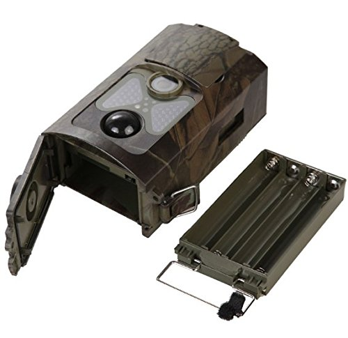 HKCYSEA HC550A HD Infrared Hunting Camera with Night Vision 48Pcs IR LEDs Farm Forest Monitoring Field Animal Detection Security Game Waterproof Camera by HKCYSEA (Image #3)