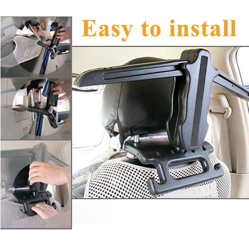 E-PRANCE New Car 3-in-1 Multi-function Folding Hanger Hook Safety Grab Bar