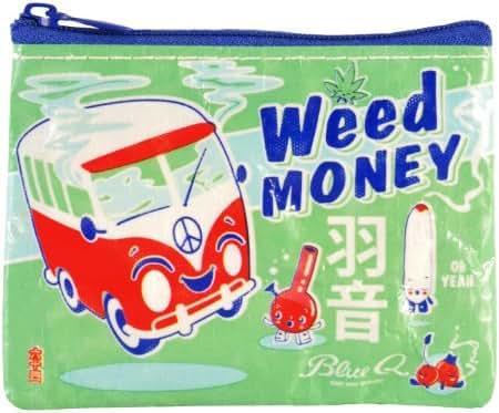 Blue Q - Weed Money Coin Purse (QA545)