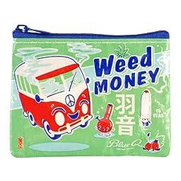 Blue Q - Weed Money Coin Purse