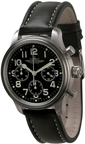 Zeno-Watch Mens Watch - NC Pilot Chronograph 2020 - 9559TH-3-a1