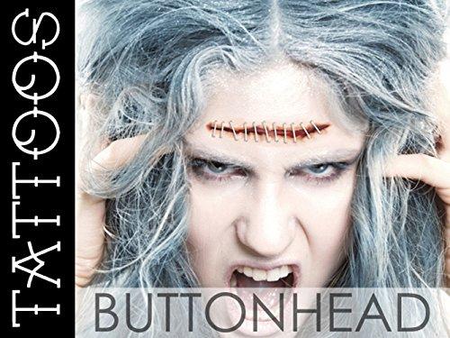 Amazoncom Halloween Costume Accessories Lobotomy Stitches Fake - Gore-makeup