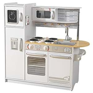 Kidkraft 53364 uptown kitchen toy white toys for Amazon cucina