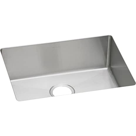 Elkay Crosstown EFRU211510 Single Bowl Undermount Stainless Steel Kitchen  Sink