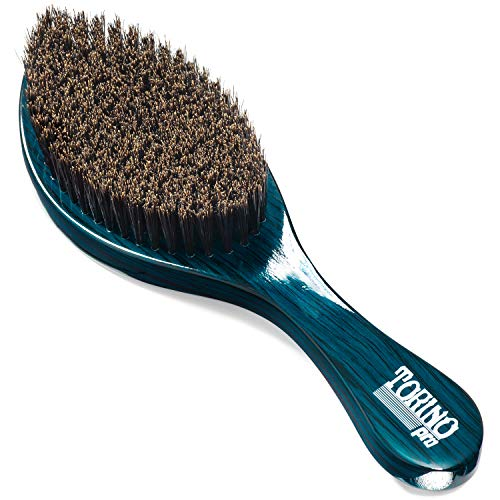 (Torino Pro Wave Brush #560 By Brush King - Medium Soft Curve 360 Waves Brush- Brush exclusively made for 360 waves)