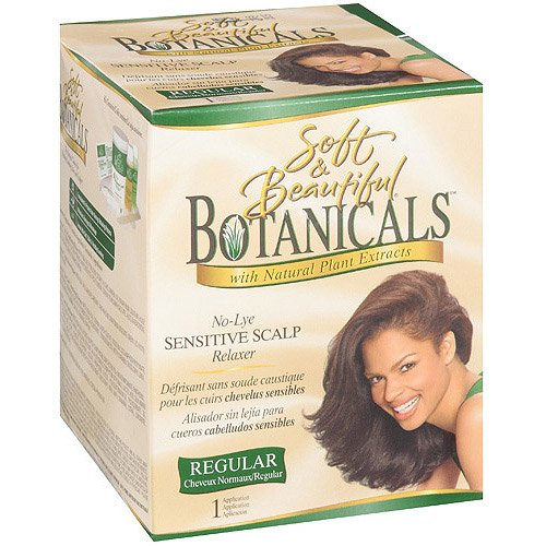 No Lye Sensitive Scalp Regular Relaxer by Soft & Beautifu;