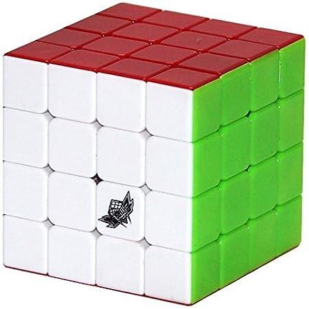 Cubelelo Cyclone Boys G4 4X4 Stickerless Cube - Black