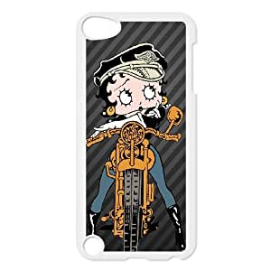 Betty Boop iPod Touch 5 Case White&Phone Accessory STC_975217