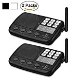 Hosmart 1500FT LONG RANGE 7-Channel Digital FM Wireless Intercom System for Home and Office (2 Stations)
