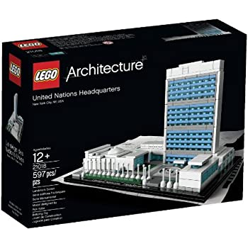 LEGO Architecture United Nations Headquarters (Discontinued by manufacturer)