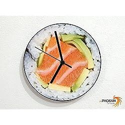Sushi Makimono Roll - Japanese Foods - Wall Clock