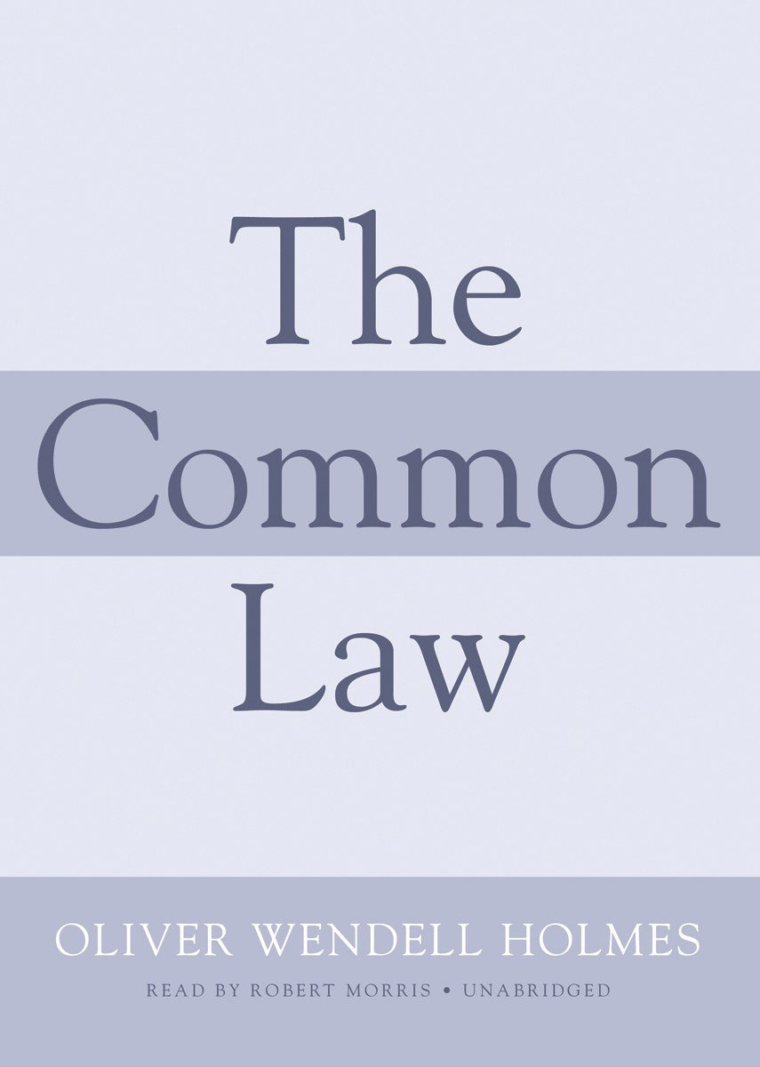 The Common Law (Library Edition)