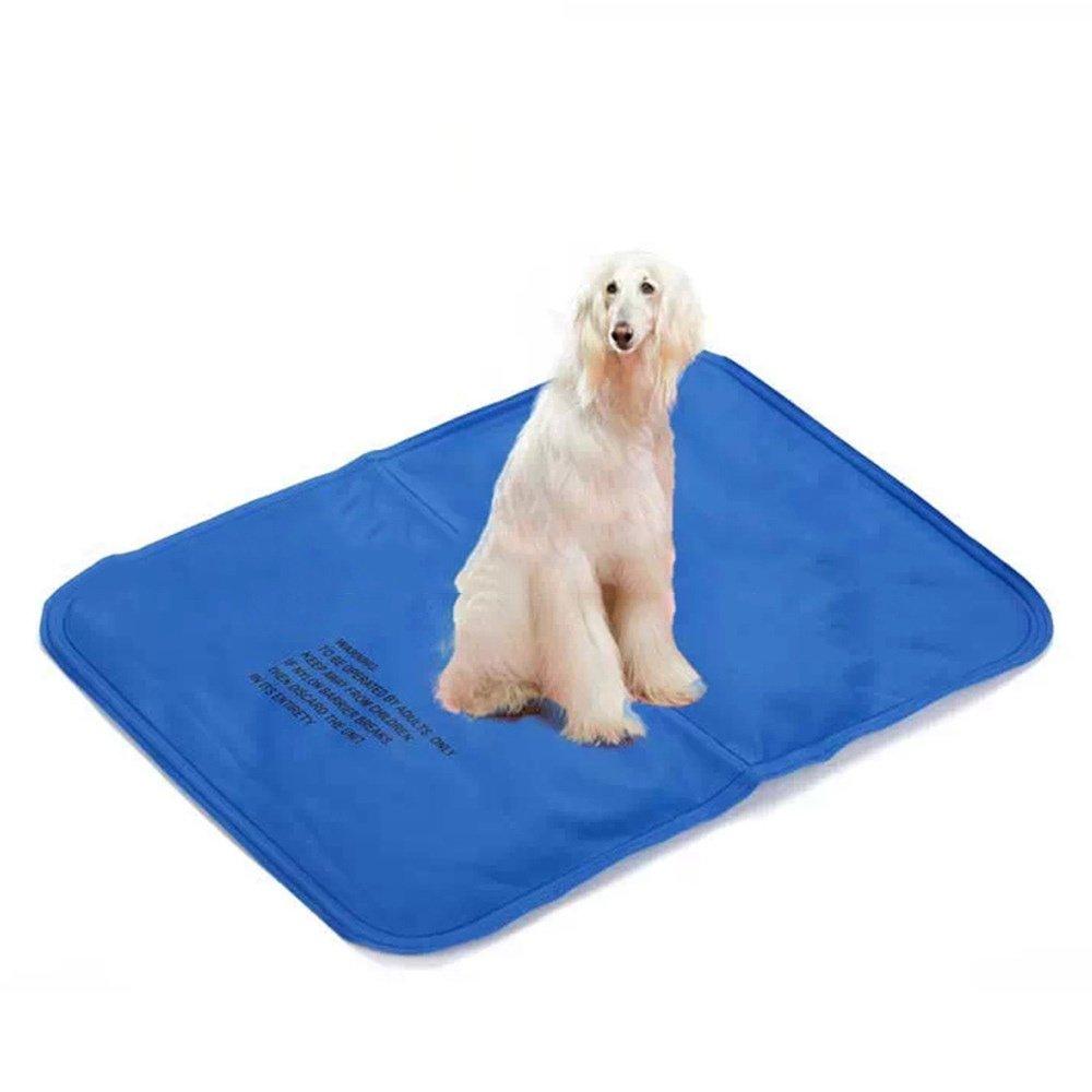 XULO Colchoneta De Enfriamiento para Mascotas Colchón De Enfriamiento Alivio del Calor Alfombra De Enfriamiento para Mascotas No Tóxica Gato para Mascotas ...