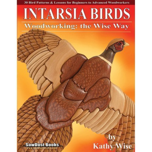 Intarsia Birds Woodworking Sawdust Project product image