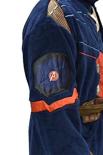 Marvel Universe Captain America Civil War Mens Fleece Costume Robe