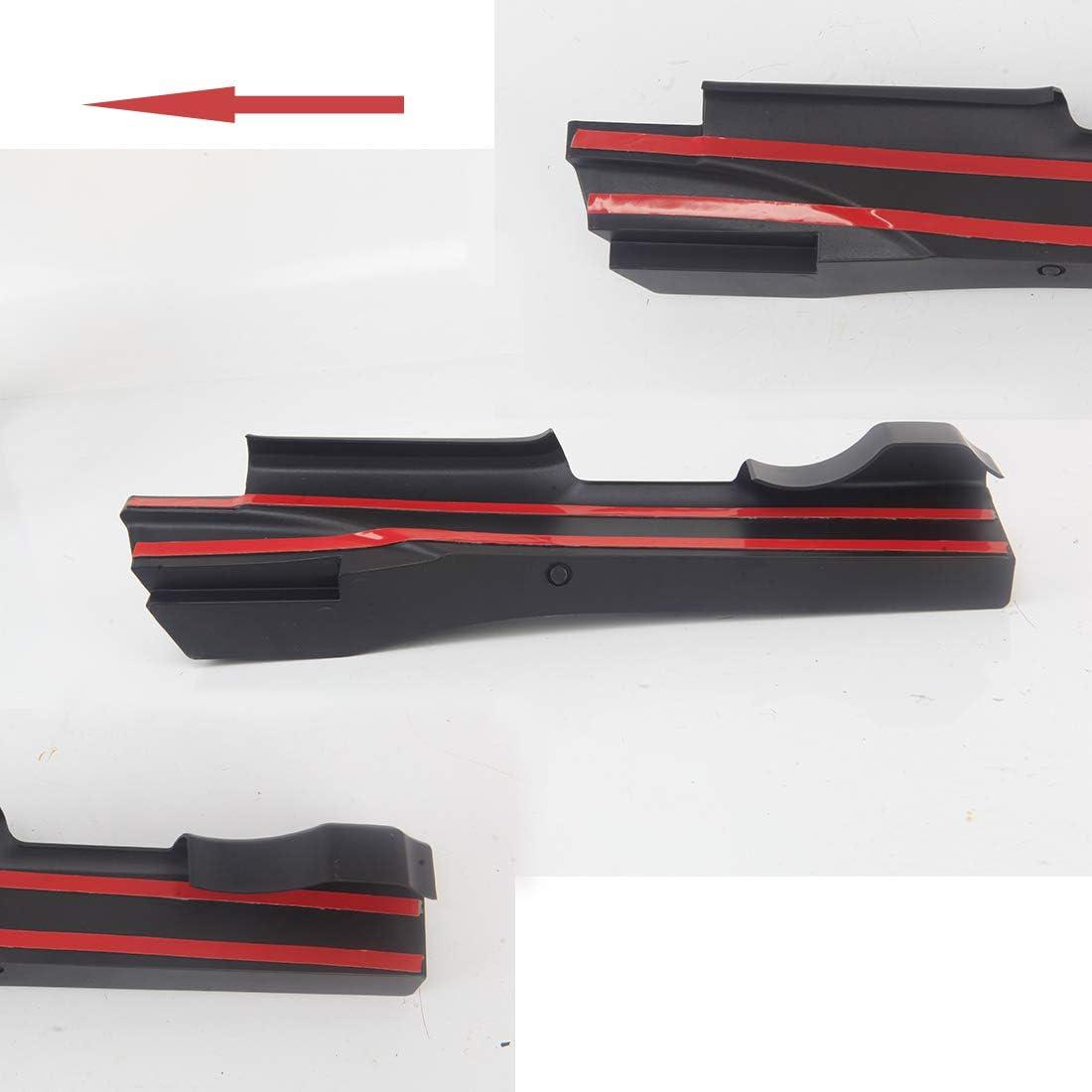 Interior Accessories Black KMFCDAE Geartray Passenger Seat Organizer Front Seat Gap Filler Gear Shifter Console Side Storage Box Tray for Jeep Wrangler JK JKU2011-2018