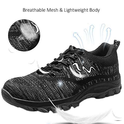 Outdoor Hiking Trekking Trail Composite Shoes SUADEX Steel Toe Shoes for Men and Women Industrial Construction Work Safety Shoes Sneakers