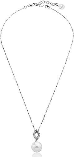 Majorica 15322.01.2.000.010.1 Colgante Mujer Plata Perla 12 mm Medida 40/45 cm