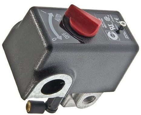 Craftsman a17370 Interruptor de presión para 919167812 y 919165613 compresores de aire por CRAFTSMAN: Amazon.es: Bricolaje y herramientas