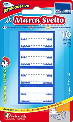Etiquetas termo-adhesivas de ropa 2 x 10pcs, etiquetas, personalización de ropa,