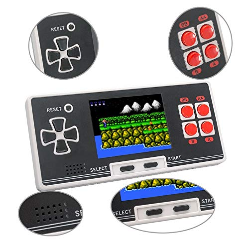 WOLSEN Old Arcade New 8 Bit Kids Classical Retro Classical Pocket Handheld Game Player Portable Game Console Pocket Console with 200 Games by WOLSEN (Image #3)