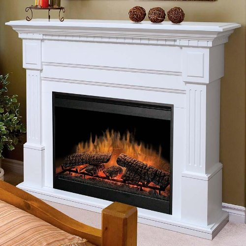 Dimplex Essex White Electric Fireplace Mantel Package Gds30 1086w Kitchen In The Uae See