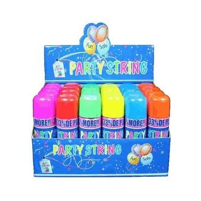 Blue Box Party String - 3 Cans: Toys & Games