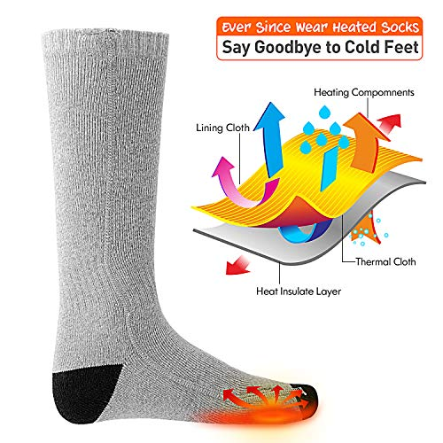 Warmfits Sock for Women and Men (Gray)