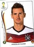 2014 Panini World Cup Soccer Sticker #506 Miroslav Klose Mint