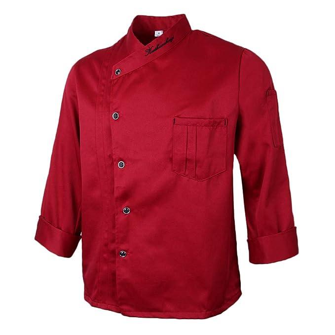 Leiber Unisex Kochjacke Gastronomiekleidung Berufsbekleidung Jacke Bäckerjacke