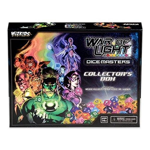 (WizKids DC War of Light Dice Masters Collector's Box)