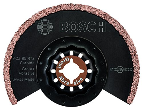 Bosch Starlock ACZ 85 RT3 Riff Tungsten Carbide Routing and Grout Removing...